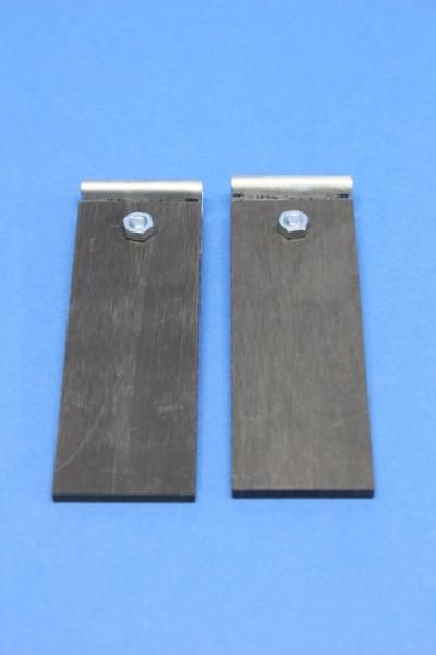 Kohleblatt-Elektrode, 95 x 30 mm
