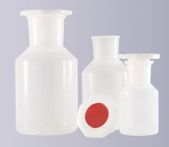 Steilbrustflasche aus Polypropylen (PP), Weithals, 500 ml