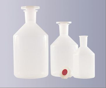 Steilbrustflasche aus Polypropylen (PP), Enghals, 250 ml