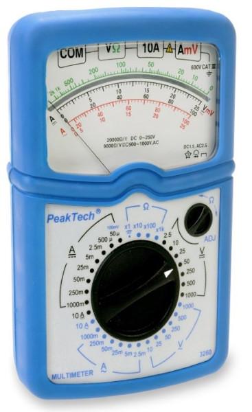 Test-Instrument für Lehrzwecke, Multimeter 3260