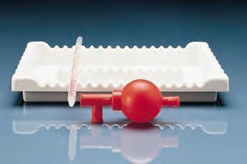 Pipettenablage aus PVC
