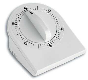 Kurzzeitmesser, mechanisch, 60 min