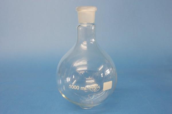 Rundkolben, 1000 ml, NS 29/32, Boro 3.3