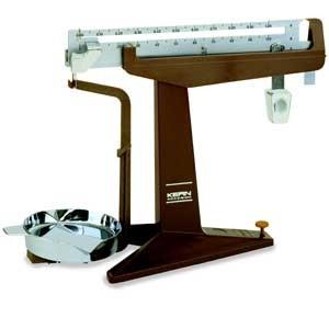 Schiebegewichtswaage, Ablesbarkeit d: 0,01 g, Wägebereich Max: 301 g