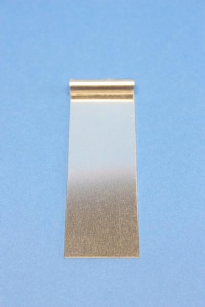Aluminiumblech-Elektrode, 95 x 30 mm