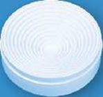 Kolbenuntersetzer aus Polypropylen (PP), für Kolben 50 ml - 2000 ml