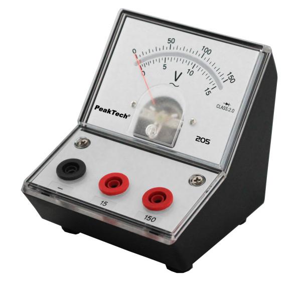 Messgerät für Lehrzwecke 0-15/150 V AC