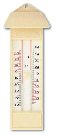 Wetterthermometer, Maximum - Minimum - Thermometer nach Six