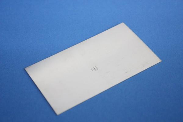 Nickelblech, 80 x 45 x 0.9 mm
