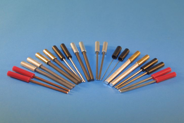 Nickel Stab-Elektrode, rund 120 mm lang