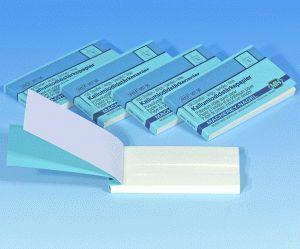 Kaliumiodidstärkepapier 816 N (Heftchen mit 100 Streifen 10 x 70 mm)