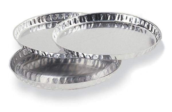 Probeschalen aus Aluminium, Gebinde zu 80 Stück