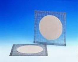 Drahtnetz mit Keramikeinlage, Abmessungen: 120 x 120 mm