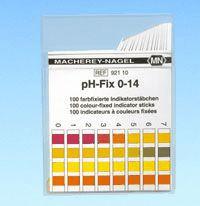 pH-Fix Indikatorstäbchen (0 - 14) - nicht blutend, Packung à 100 Stäbchen