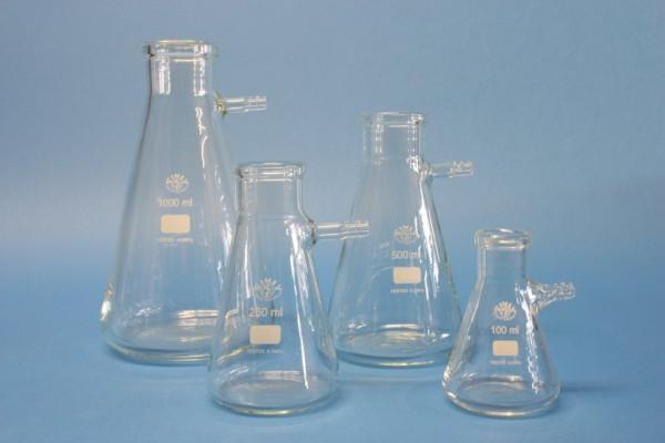 Saugflasche mit Glasolive, 500 ml