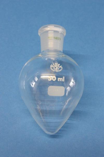 Spitzkolben, 50 ml, NS 14/23, Boro 3.3