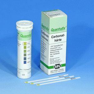 QUANTOFIX® Teststäbchen Carbonathärte, Dose à 100 Teststreifen