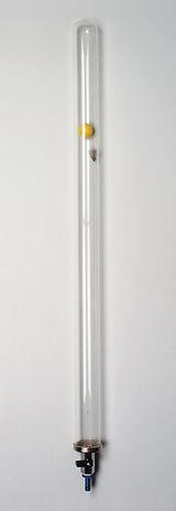 Fallröhre, 750 x 42 mm, mit Hahn