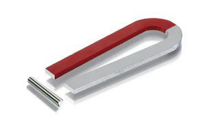Hufeisenmagnet 100 mm Schenkellänge
