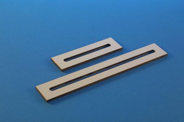 Schlitzträgerplatte, Länge: 120 mm