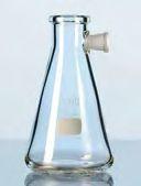 Saugflasche mit Tubus, Duran®, 1000 ml, Erlenmeyer