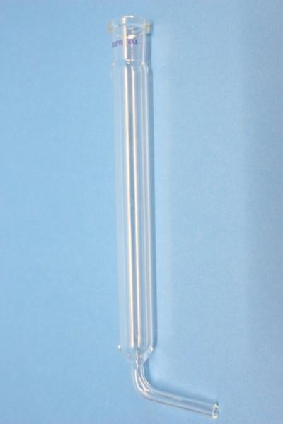 Experimentierrohr, 180 mm, SB 19, aus Supremax, mit Stutzen