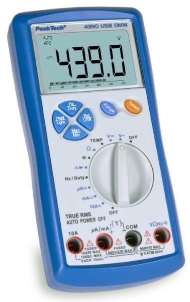 Digital-Multimeter, 3 5/6-stellig 4390