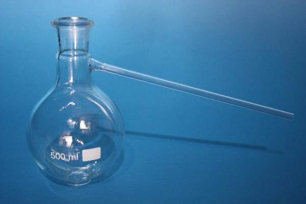 Destillierkolben, 250 ml, mit Stopfenbett (SB 29)