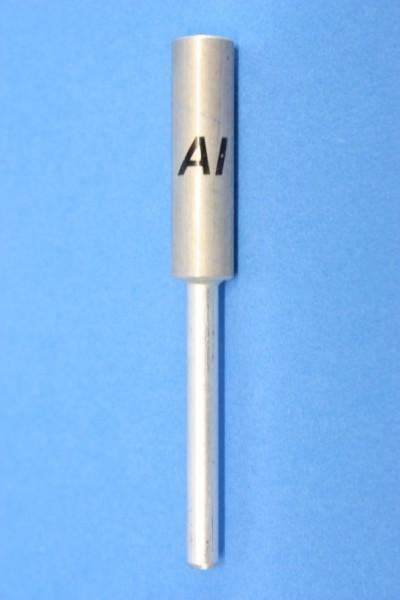 Alu Stab-Elektroden, rund 83 mm (beschriftet)