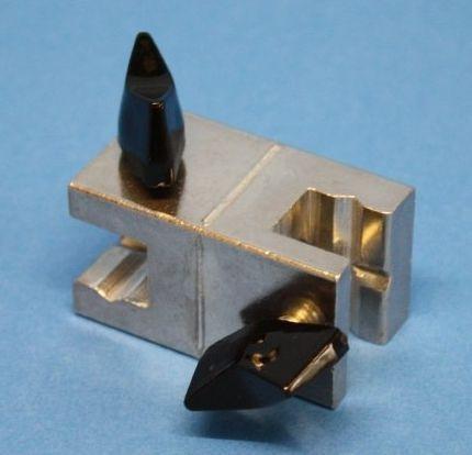 MBM-Zweirohrmuffe aus Leichtmetalllegierung