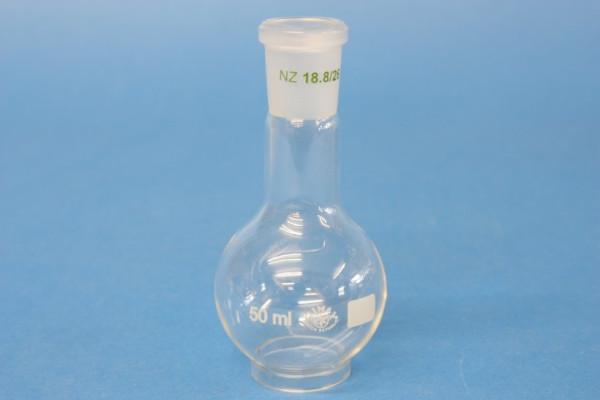 Rundkolben, 50 ml, NS19/26, Boro.3.3