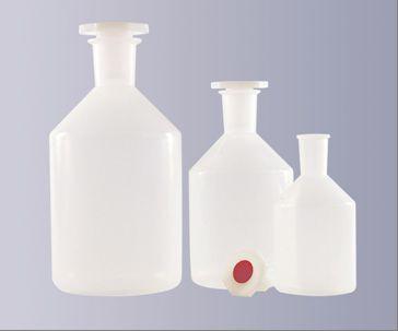 Steilbrustflasche aus Polypropylen (PP), Enghals, 100 ml