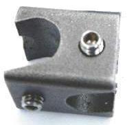 Minidoppelmuffe aus Edelstahl, Spannweite 12,5 mm, aus Edelstahl
