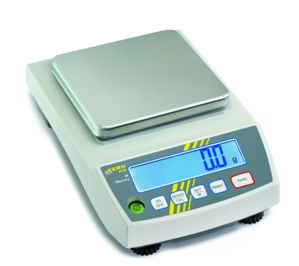 Präzisionswaage PCB 2500-2, Ablesbarkeit d: 0,01 g, Wägebereich Max: 2500 g