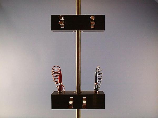 Klemmvorrichtung (Messrohrhalterung) zum Hoffmann-Apparat