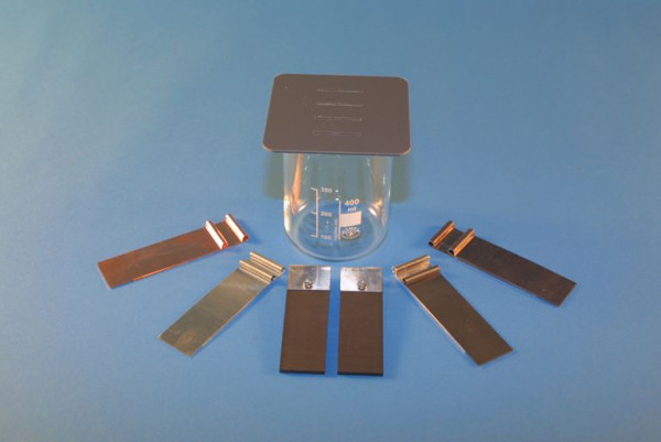 Elektrolyse-Set für galvanische Elemente