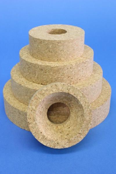 Korkringe, für Kolben 10 - 100 ml, 80 x 30 mm