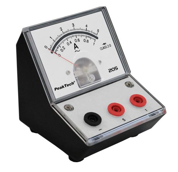 Messgerät für Lehrzwecke 0-1A-5A AC