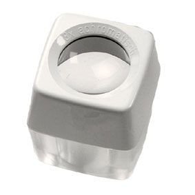 Micro-Standlupe, 8-fach Vergrößerung