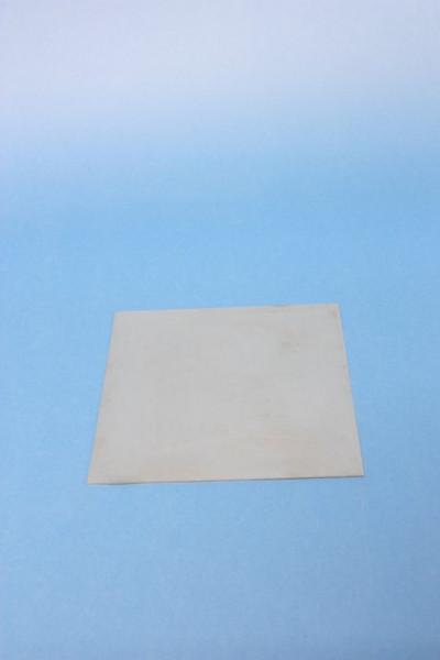 Eisenblech, 160 x 160 mm, vornehmlich für Röstzwecke
