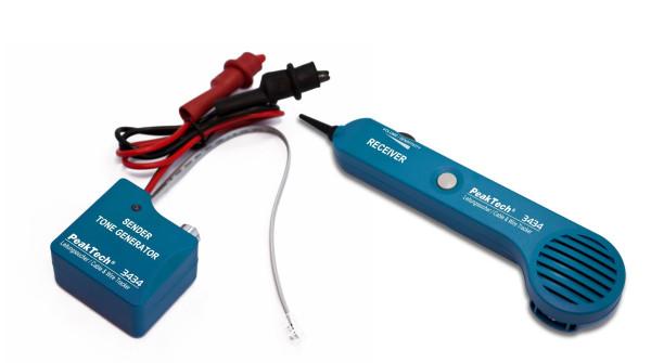 Leitungssuchgerät / Stromkreisdetektor mit Sender & Empfänger
