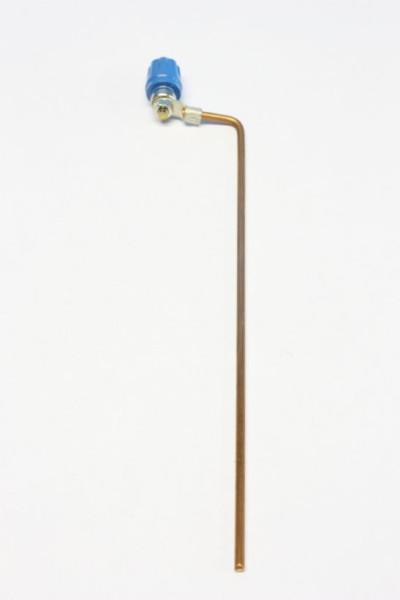 Kupfer, Elektrode mit 4-mm-Anschlussbuchse für Verbindungsleitung