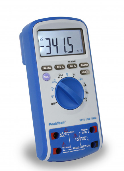 Digital-Multimeter 3 5/6-stellig mit USB, P3415