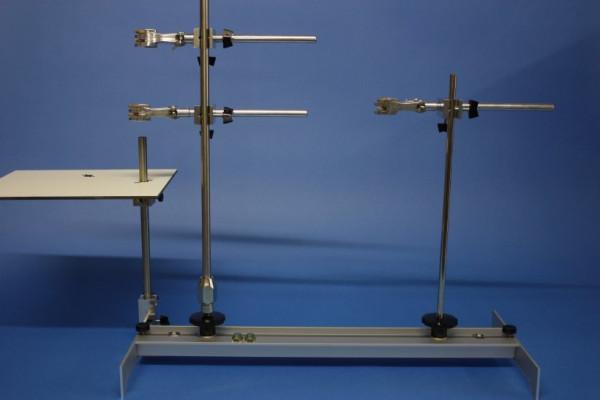Stativaufbausatz für Fraktion Erdöldestillation (Glockenbodenkolonne)