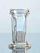 Coplin Färbekästen, aus Glas, mit Deckel