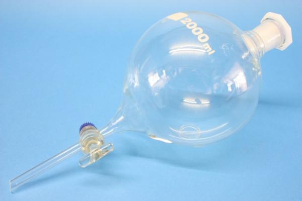 Scheidetrichter, konische Form, 2000 ml ISO 4800