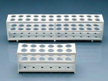 Reagenzglasgestell aus Polypropylen, für 12 Reagenzgläser