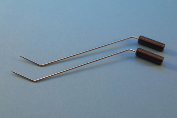 Eisen-Schmelzfluss-Elektrodenpaar (2 Stück)