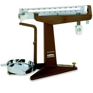 Schiebegewichtswaage, Ablesbarkeit d: 0,05 g, Wägebereich Max: 301 g
