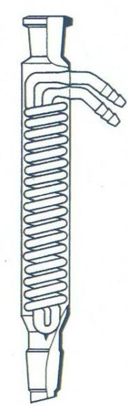 Dimroth-Kühler, Mantellänge 300 mm, NS 29/32, Boro.3.3